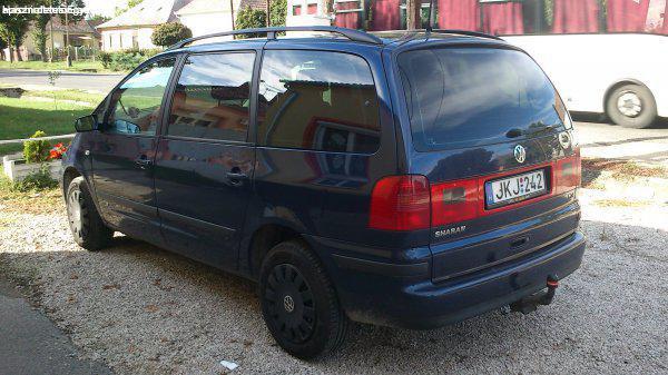 VW SHARAN 1.9 PD TDI 7 SZEMÉLYES